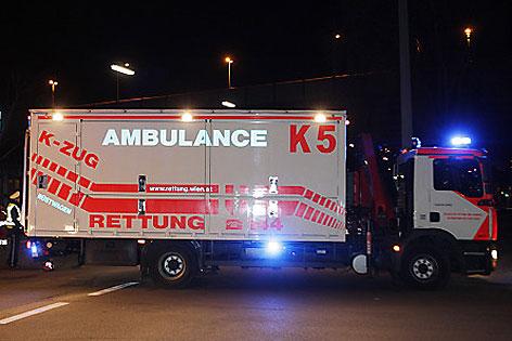 Chemieunfall in Wien