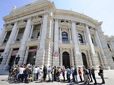 Burgtheater will G4S-Verträge behalten - wien.ORF.at